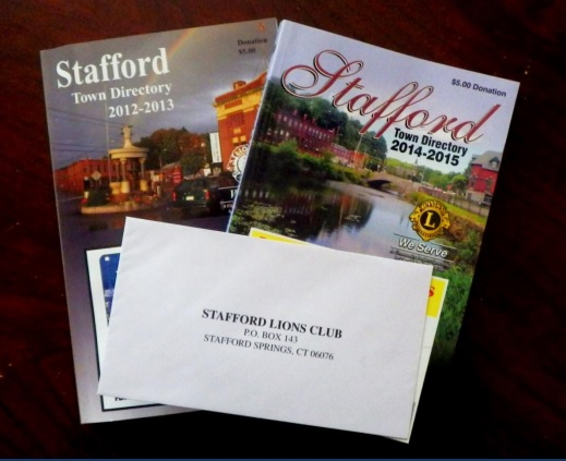 Past Stafford Town Directories